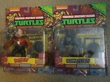 Teenage mutant Ninja Turtles Classic Collection Bebop and Rocksteady Figures NEW