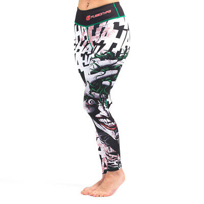 The Killing Joke Women/'s Leggings Spats compression yo Fusion Fight Gear Batman
