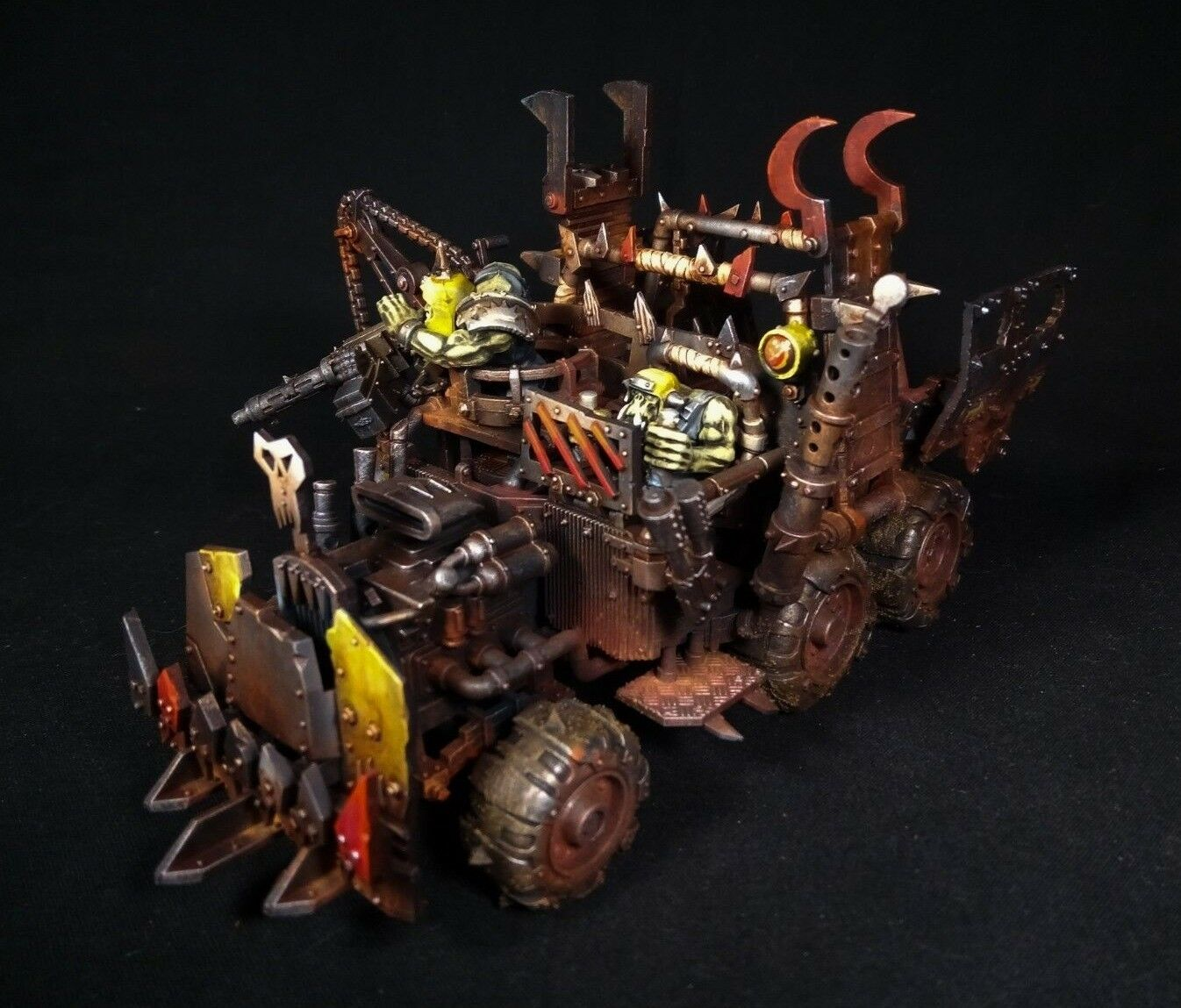 Warhammer 40k Ork trukk Pro pintado de comisión