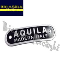 2749- TARGHETTA AQUILA MADE IN ITALY SELLA VESPA 125 150 SPRINT GL SUPER GT GTR