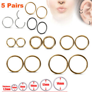 Hinged-Seamless-Segment-Ring-Surgical-Steel-Nose-Hoop-Earring-Labret-Septum-Ring