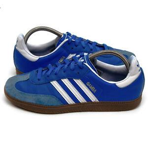 Details zu Adidas Samba Retro Sneaker Schuhe - blau/blue - Size: EU-38⅔ |  UK-5½ (480)