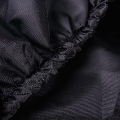 HONDA JAZZ 02/> Seat Covers Waterproof Nylon Front Pair car Black Protectors