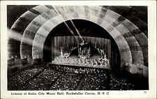 USA Postcard NEW YORK Interior Radio City Music Hall Rockefeller Amerika ~1950