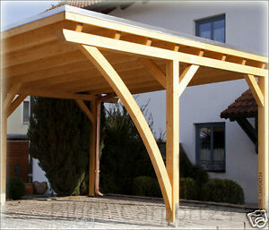 rundbogen carport leimholz leimholzbogen bogenbinder holzbogen leimbogen bsh duo ebay. Black Bedroom Furniture Sets. Home Design Ideas