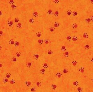 100/% algodón Woof N /'Bigotes Patas naranja//roja