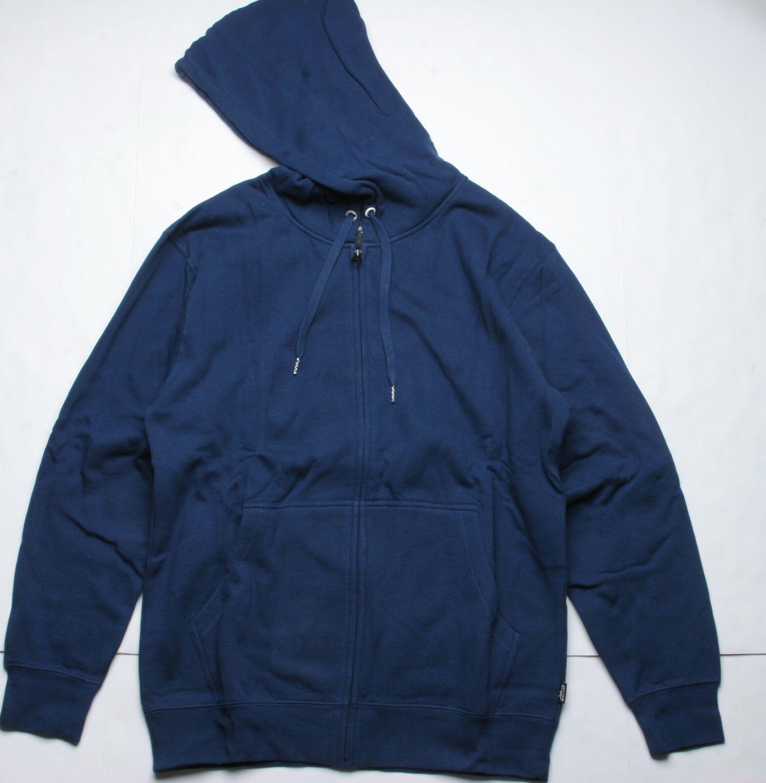 Alpinestars Basic Fleece Zip Hoody (M) Midnight Navy