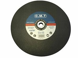 """10 Pack 14/"""" x 1//8/"""" x 1/"""" Chop Saw Blade Metal /& Stainless Steel Cutting Disc"""
