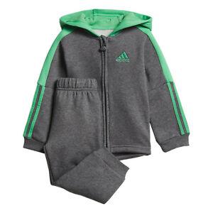 acheter populaire c0654 85d9c Détails sur Adidas Garçon Enfant Jogger Ensemble Mode de Vie Pantalon  Capuche Casual Ecole