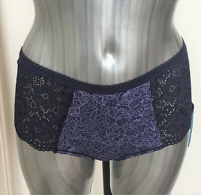M/&S Lingerie The Cotton Rich High Rise Short Shorts Knickers Bnwt rrp £6