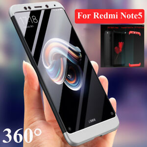 new style 766a2 15846 Details about For Redmi Note5 Pro 360 Case Xiaomi 6X Mix2s Full Cover  Skin+Tempered Glass Film