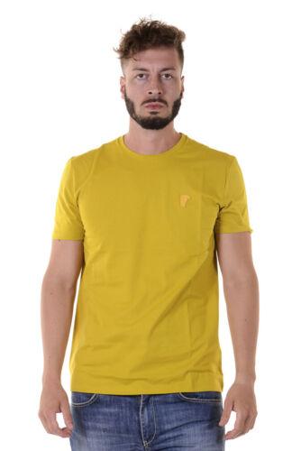 V1033 Versace Collection Uomo Cotone T V800683vj00180 Giallo Sweatshirt Shirt fwq5xR18