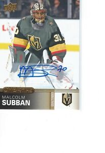 2019-20-Upper-Deck-Overtime-Gold-Autos-No-64-Malcolm-Subban