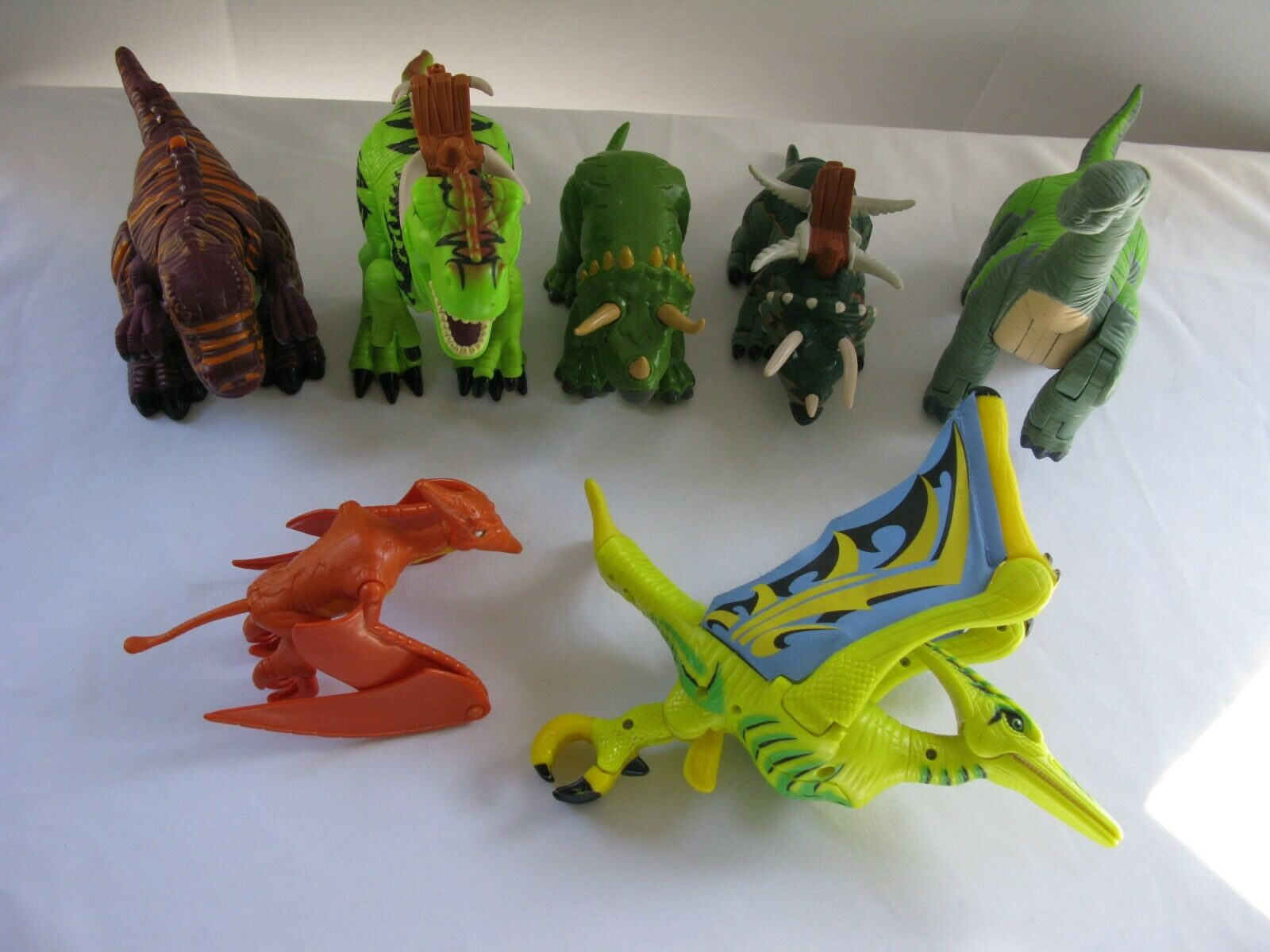 7 Imaginext Dinosaurier, [Battery Opererat Ljudrörelse] Fisher Price Fun häftigt