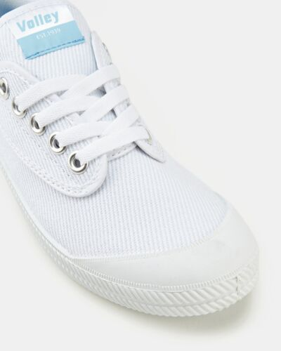 Mens Volley International Canvas Unisex Womens Sneakers Volleys Lace Up Shoes