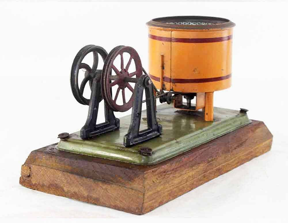 Dans Dans Dans l'attente de la ville, retenant votre souffle LESSIVEUSE BING   / jouet ancien antique toy vapeur ba6d13