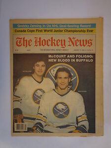 The Hockey News January 15, 1982 Vol.35 No.15B McCourt Foligno Gretzky Jan '82