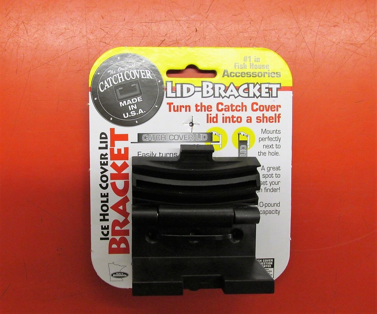 4 Pk Catch Cover Lid Bracket