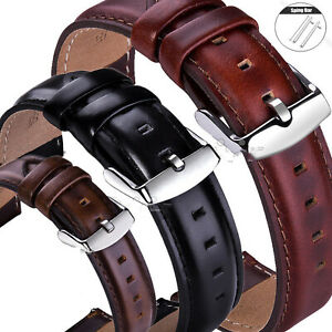 18-20-22mm-Quick-Release-Man-Leather-Watch-Band-Wrist-Strap-For-Fossil-Watch