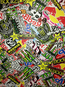 stickers bombers autocollant 20 x 10cm kit deco moto cross sportive quad vtt ebay. Black Bedroom Furniture Sets. Home Design Ideas