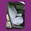 thumbnail 1 - Front Car Van White Waterproof LARGE Universal Airbag Compatible Seat Covers