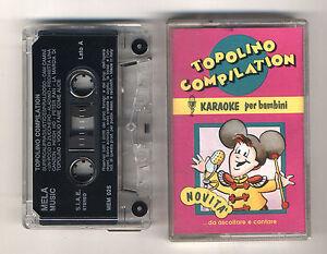 Mc-KARAOKE-PER-BAMBINI-Topolino-Compilation-OTTIMO-1993-Basi-Walt-Disney