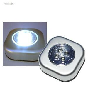 5x touch leuchte lampe mit led ohne kabel leds wei. Black Bedroom Furniture Sets. Home Design Ideas