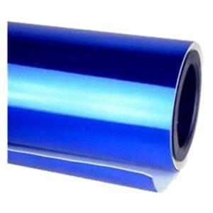 Chrome-Mirror-Vinyl-Film-Wrap-Sticker-Decal-Stretchable-Reflective-152x20cm-b-CL
