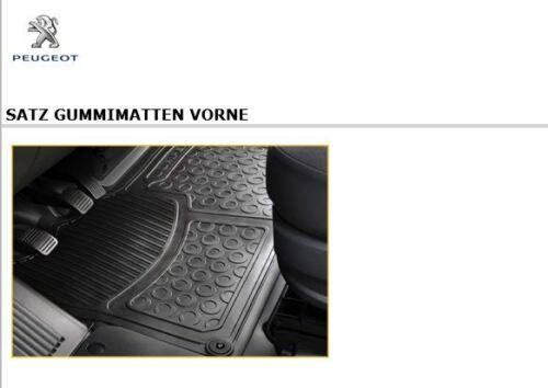 Original Gummimatten Fußmatten vorne Peugeot Boxer 3 NEU 966329