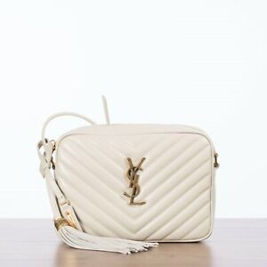 SAINT-LAURENT-1250-LOU-Monogram-Camera-Bag-In-Vintage-White-Quilted-Leather