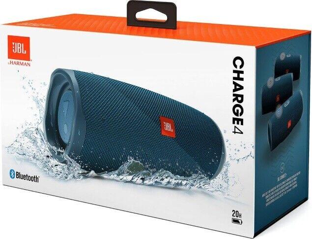 JBL Charge 4 Rechargeable Portable Waterproof Wireless Bluetooth Speaker