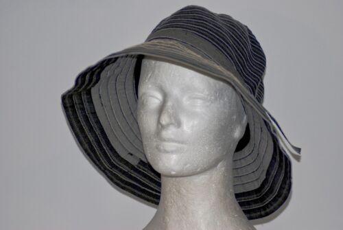 """NWT Parkhurst  Packable /""""Riley Ribbon/"""" Sun Hat Cotton Blend # 17664"""