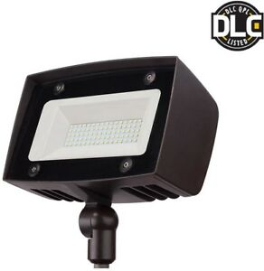 Details About Spot Flood Light Outdoor Led Dual Control Heavy Duty Switch Controlled Aluminum