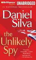 The Unlikely Spy Unabridged Audio Book On Cd By Daniel Silva