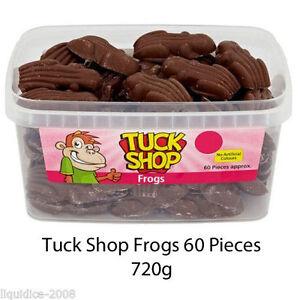 Tuck Shop Chocolat Au Lait Grenouilles Crapaud Bonbons Parti Faveurs Traite Discount Candy-afficher Le Titre D'origine