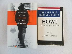 Details About Lot Of 2 Allen Ginsberg Collected Poems 1947 1997 Poem That Changed America Howl