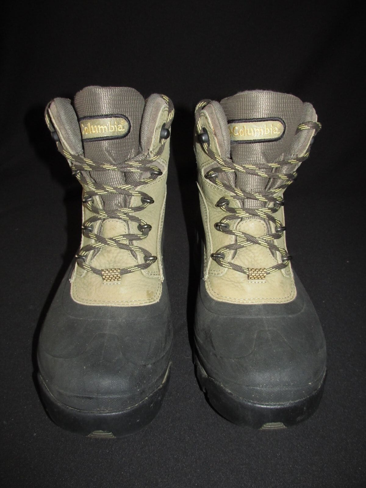 Columbia Bugabootoo Waterproof Lace Up Leather Snow Winter Boot Women's 7.5M