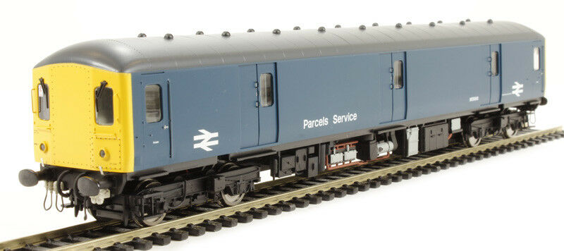Heljan 8940 - Class 128 Parcels DMU M55993 BR blu giallo Ends - OO Scale NEW