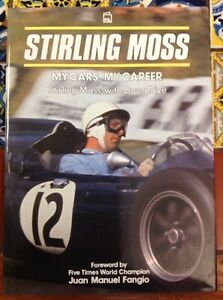 STIRLING-MOSS-My-Cars-My-Career-1992-Stirling-Moss-Doug-Nye-HD-DJ-free-Ship
