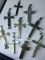 Stainless Steel Cross Pendants Various Choices