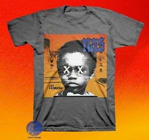 New-Nas-Illmatic-Mens-Classic-Vintage-Concert-Rap-T-shirt