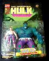Marvel Incredible Hulk Savage Hulk - Banner Transforming Action Toybiz 96 Rare