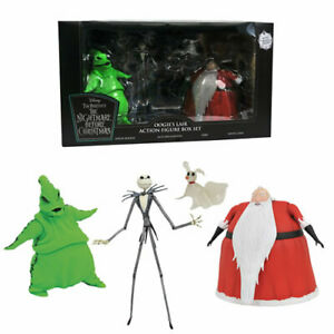 SDCC 2020 NIGHTMARE BEFORE CHRISTMAS OOGIE'S LAIR ACTION FIGURE BOX SET NEW