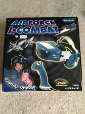RADICA AIRFORCE I-COMBAT 3D VIRTUAL VISION ELECTRONIC GAME - BOXED