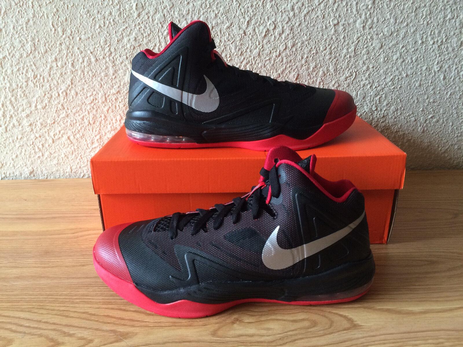 New Nike AIX MAX PREMIERE Men's Basketball Black Shoes 653638 006