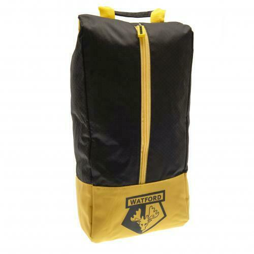 Watford FC Boot Bag FOOTBALL CLUB FAN Boys Men CHRISTMAS Birthday Present GIFT