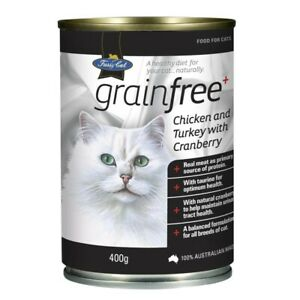 V.I.P. Fussy Cat Grainfree Chicken & Turkey With Cranberry Cat Food 400 gram