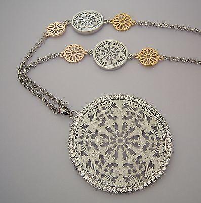 Farbe Rosegold Armband Armreif Ornament besetzt mit vielen Kristallen 18 cm  NEU