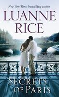 Secrets of Paris by Luanne Rice (2012, Paperback)