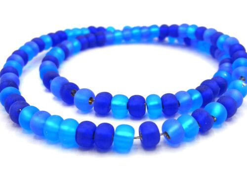 aprox 5//0 220 St.; * 3311 azul Matt 20 G de Kaden Rocailles perlas 4,5 mm